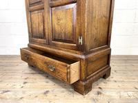 20th Century Reproduction Oak Side Cupboard (9 of 10)