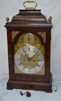 Samuel Honeychurch London Georgian Bracket Clock c.1770 (6 of 11)