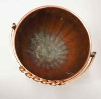 Arts & Crafts Copper Fireside Log / Coal Bucket or Planter (5 of 11)