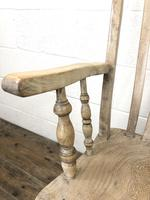 Victorian Ash and Elm Country Armchair (7 of 10)