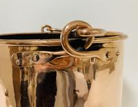 Antique Riveted Copper Bucket (9 of 14)