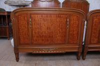 Handsome Pair of Parquetry Large Single Beds (5 of 10)