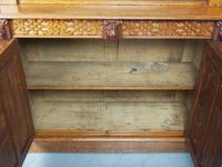 Antique Victorian Golden Oak Open Bookcase (16 of 20)