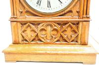 Antique English Fusee Bracket Clock by W Potts & Son Leeds 8 Day Fusee Timepiece Mantel Clock (11 of 14)