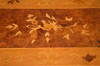 French Style Burr Walnut Inlaid Marquetry Coffee Table (7 of 10)