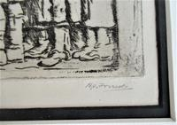 R S Forrest print, Scottish National War Memorial, after Meredith Williams c1927 (4 of 8)