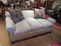 Top Quality Antique Walnut Three Seater Settee (10 of 10)