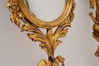 Antique Italian Giltwood Mirror Set (9 of 12)