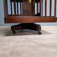 19th Century Revolving Bookcase (5 of 7)