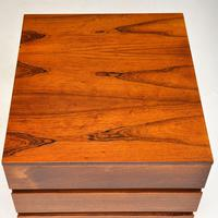 Danish Rosewood Filing Chest of Drawers Vintage 1960's (4 of 9)