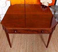 Folding Writing Desk 19th Century Mahogany (4 of 17)