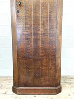 Early 20th Century Antique Oak Hall Cupboard (4 of 9)