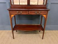 Inlaid Mahogany Display Cabinet by Shapland and Petter (4 of 21)