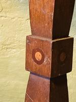 Arts & Crafts Pedestal Table (3 of 9)