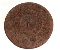 Burmese Side Table Antique Carved Burma Furniture (5 of 11)