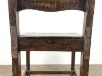 Set of Four 19th Century Oak Farmhouse Chairs (M-189) (5 of 17)
