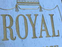 Interesting Architectural Large Heavy Marble & Gilt Inscribed Royal Insurance Building Sign (2 of 13)