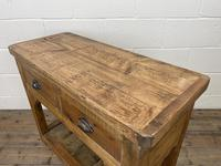 Rustic Wooden Sideboard with Two Drawers (8 of 10)