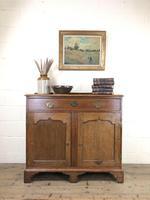 Antique Oak Cupboard on Bracket Feet (11 of 12)
