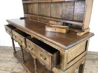 Early 20th Century Antique Oak Pot Board Welsh Dresser (17 of 18)