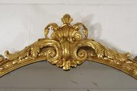 Victorian Gilt Large Oval Mirror (8 of 9)