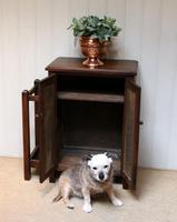 Edwardian Oak Hall Cabinet (5 of 10)