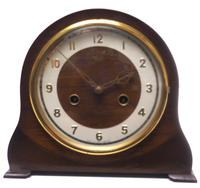 Very Good Arched Top Art Deco Mantel Clock – Smiths Striking 8-day Mantle Clock (2 of 10)