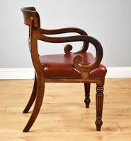 19th Century Regency Mahogany Open Armchair (3 of 9)
