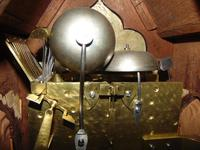 Regency Mahogany Gothic Bracket Clock (10 of 12)