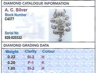2.27ct Diamond and 14ct Yellow Gold Pendant - Antique Circa 1910 (3 of 9)