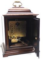 Incredible Sold Mahogany Mantel Clock Westminster Chime Triple Musical Bracket Clock by St James London (9 of 11)