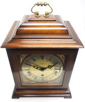 Incredible Sold Mahogany Mantel Clock Westminster Chime Triple Musical Bracket Clock by St James London (5 of 11)