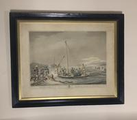 Georgian framed aquatint after Samuel Howitt (4 of 9)