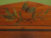 Antique Aesthetic Movement Music Cabinet with fall front & hand painted design (10 of 14)