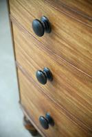 Antique Mahogany Bow Front Chest of Drawers (3 of 9)