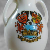 Unusual, W.H. Goss Crested Ware, Heraldic, Souvenir China, Misspelt  Place  NameVase (4 of 6)