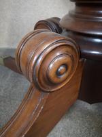 Regency Mahogany Breakfast Table / Dining Table - Seats Eight (6 of 12)