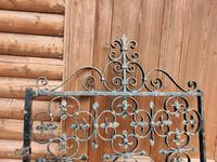 Large Iron Garden Gate (3 of 7)