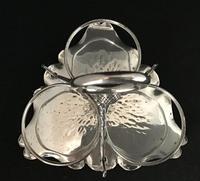 Silver Plated Golf Theme Cruet Holder c.1880 (2 of 3)