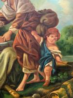 After Amos Cassioli - Large 20th Century Oil on Canvas Painting (8 of 12)