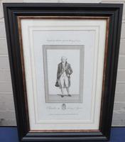 1790 Fine Engraving Charles IV King of Spain