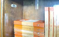 1930s Golden Oak Minty of Oxford Bureau Bookcase (8 of 11)