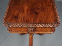 Antique Regency Mahogany Side Table (14 of 19)