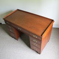 Teak Pedestal Desk (9 of 10)