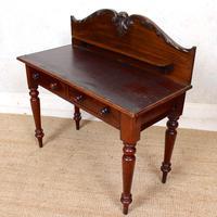 Victorian Mahogany Writing Desk (5 of 9)