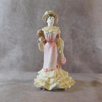 """Coalport """"Georgina """" Limited Edition Figurine (6 of 7)"""