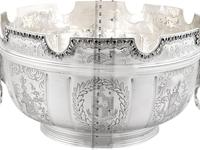 Sterling Silver Monteith Bowl - Antique Edwardian 1905 (18 of 18)