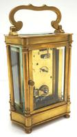 Rare & Unusual Cased Antique French 8-day Timepiece Carriage Clock c.1900 (5 of 10)