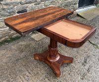 Regency Rosewood Card Table (3 of 24)