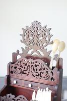 19th Century Scottish Vernacular 'folk Art' Thistle Fretwork Spoon & Candle Box (26 of 36)